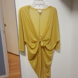 LulaRoe Sheer Golden Cardigan